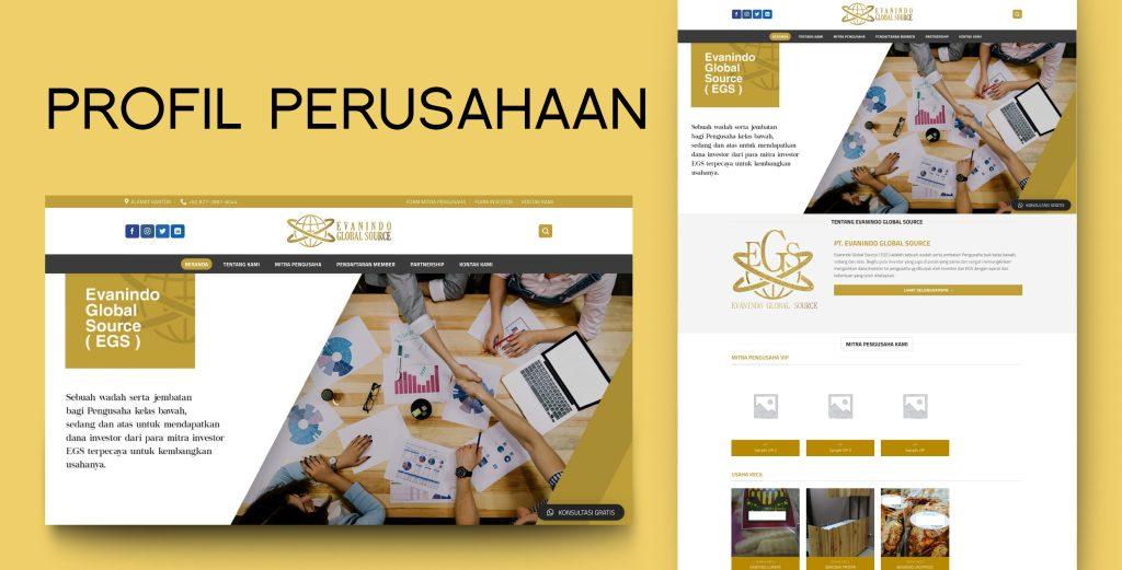 11. Demo Website - Profile Perusahaan