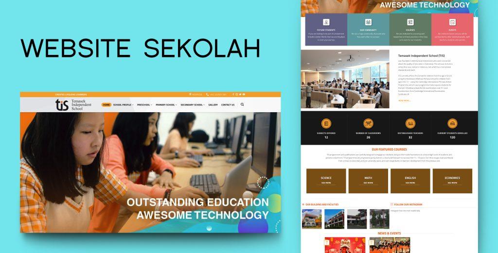 5. Demo Website - Website Sekolah