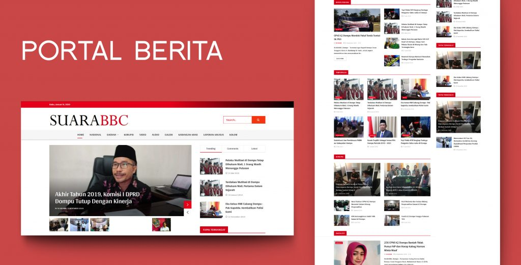 6. Demo Website - Portal Berita